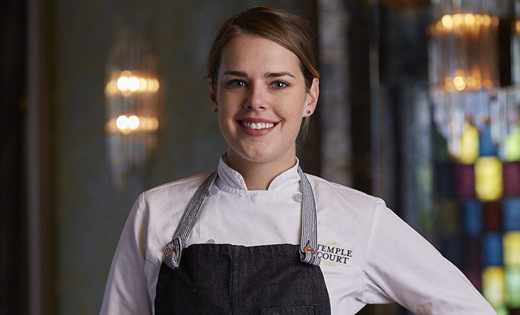 Pastry Chef Abby Swain (Photo: Temple Court)